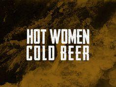 Hotcold #beer #quote #nice #women #hot #prishtina #poster #type