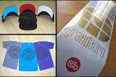 It's the Grand Brand #skateboard #logo #grandburo #typography