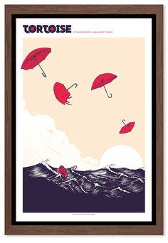 Tortoise - Gig Poster