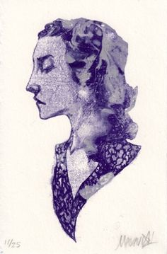 Prints : Nimit Malavia #poster #profile #girl