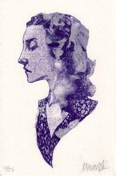 Prints : Nimit Malavia #poster #profile #girl