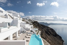 Saint Hotel on the Santorini Coast by Kapsimalis Architects