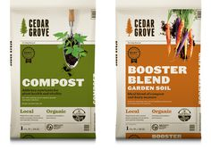 Cedar Grove Logo #packaging #mint