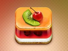 Jelly_cake #icon #design #food #app #jelly