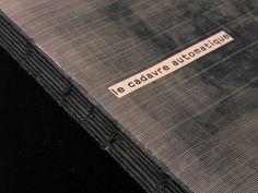 ANDY LANG / graphic design / le cadavre automatique #print #design #graphic #book #media #zapping #layout #editorial #innovative