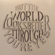 #Typography of an Ed Sheeran Song