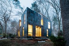 Grow Box – Steel House by Merge Architects