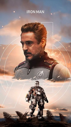 The Iron Man Tony Stark iPhone Wallpaper