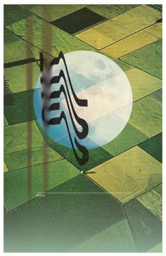#poster #collage #type #moon #farm #experimenting #gravity
