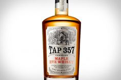 Tap 357 Canadian Maple Rye Whisky | Uncrate #packaging #alcohol