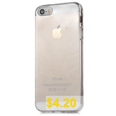 TPU #Protective #Cover #Phone #Case #for #iPhone #SE #/ #5S #/ #5 #- #TRANSPARENT