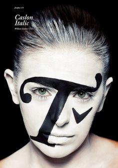 atipo — fontface 1 | caslon italic #poster