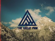 The Great PNW #typography #logo #photography