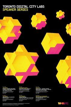 The CANADIAN DESIGN RESOURCE » TDCL Speaker Series #brian #city #yellow #magenta #banton #black #digital #labs #poster #toronto