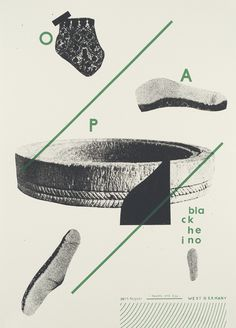 Opa - Black Heino, Damien Tran #poster #gig