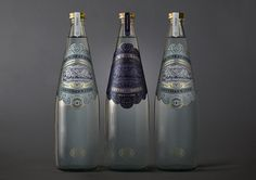 New Zealand inspired Artesian Water packaging #zealand #water #packaging #design #new