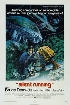 Binky the doormat - Watched Silent Running last night. Rather good,... #poster #1970s #film
