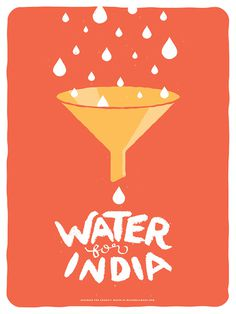 charity water madewell #illustration #poster
