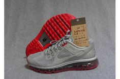 Nike Air Max 2013 Reflective Silver Reflective Silver Pimento Mens Shoes #shoes