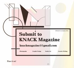 Submit to Knack Magazine Flyer