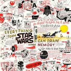 Image of Star Wars Memories #illustration #wars #star