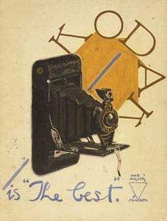 """Kodak is the Best"" Poster by İhap Hulusi Görey #ihap #kodak #design #graphic #illustration #vintage #poster #hulusi"