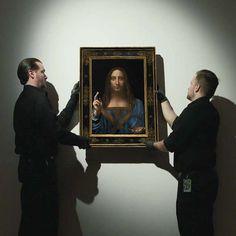 Leonardo da Vinci's Salvator Mundi Sells For Record-Breaking $450M