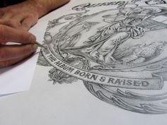 SAM STRATTON #hand drawn #cover #album #john mayer