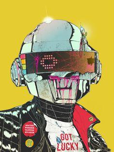 2014 : boneface Daft Punk