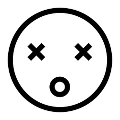See more icon inspiration related to dead, emotions, emoticons, faces, gestures, head and interface on Flaticon.