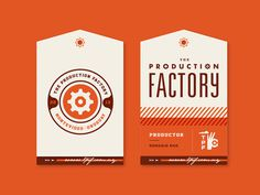 The Production Factory #type #hang #tag #logo