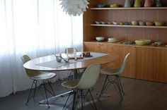 at the moment | Flickr - Photo Sharing! #interior #design #display #architecture #pottery #eames