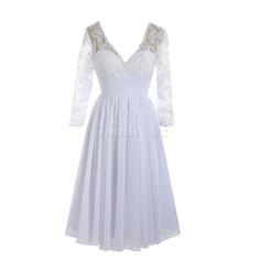 Robe de mariée classique sage romantique lache couverture avec dentelle