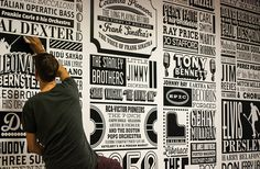 Sony Music Timeline #style #typography