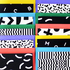 Image of Stationery Set #patterns