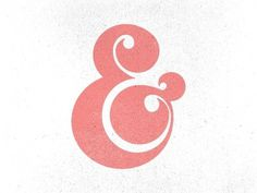 And so it begins by Nick Slater #lettering #design #glyph #ampersand #and #plus #character #typography
