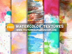 Free Watercolor Textures by PsdDude