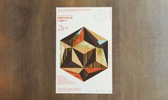 AIGA Portfolio 1-on-1 by Studio MPLS #design #poster #wood #nature #shapes