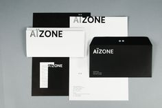 Aizone Identity on Behance #ai #corporate #identity