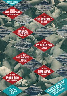 Corsica Studios Poster Linda Joy #collage #poster