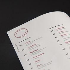 KMAG on Behance #print #design #layout #brochure #magazine #runner #run #kmag