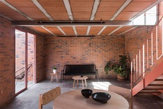 Low Budget Brick House by Dosa Studio - InteriorZine