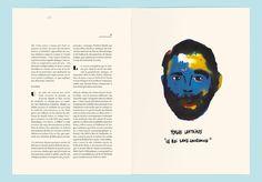 Editorial Magazine Layout Page