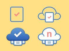 Nusii #icloud #logo #paper #cloud
