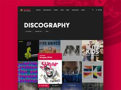50 Creative Music Website UI Designs for Inspiration