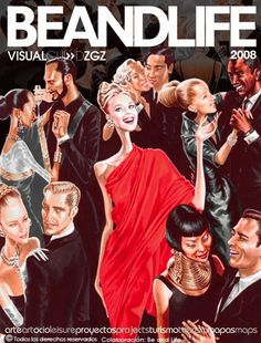 beandlife 2008 #red #cover #illustration #fashion #elena #magazine #arturo