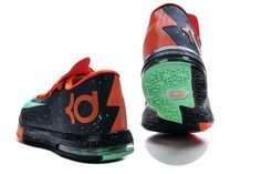 Shoes Nike Zoom Kd Vi Black Red