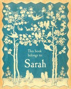 Sarah #print #design #vintage