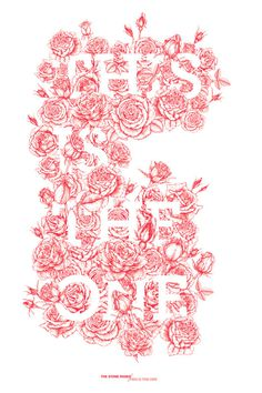 This Is The One #type #red #floral #rose