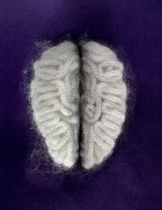 Art Sponge I Inspirational Visual Art #illenberger #sculpture #design #brain #fuzzy #sarah